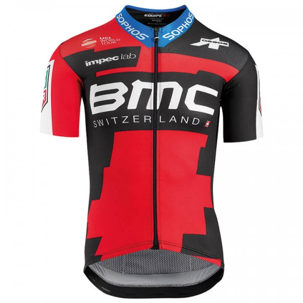 BMC RACING TEAM Kurzarmtrikot Pro 2018