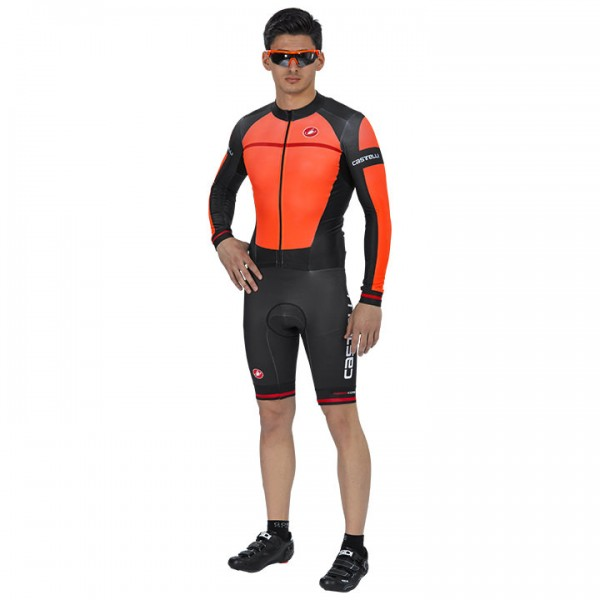 CASTELLI Racebody XC 2.0 schwarz - orange