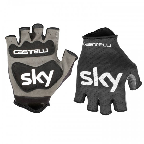 TEAM SKY Handschuhe Track Mitts 2019