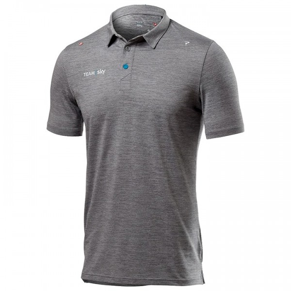 TEAM SKY Polo-Shirt Tech Pro 2019