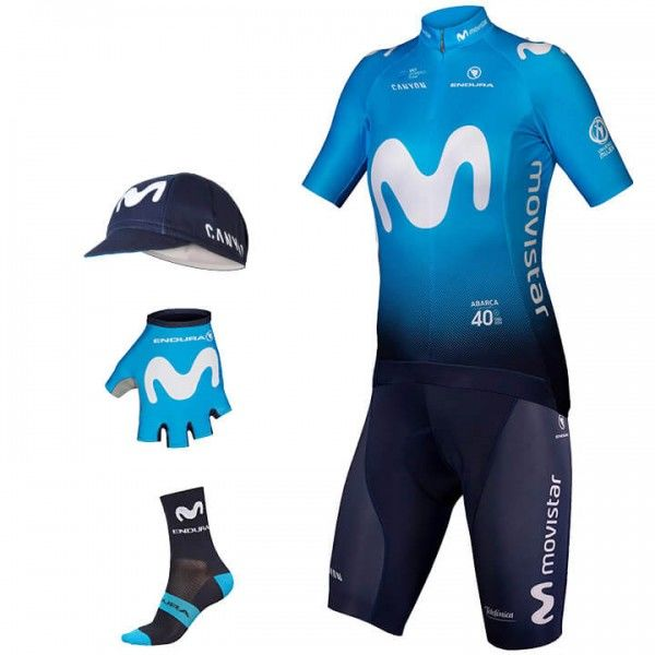 Maxi-Set MOVISTAR TEAM 2019 (5 Teile)