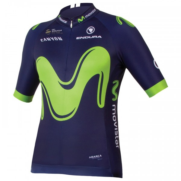 MOVISTAR TEAM Kurzarmtrikot 2017