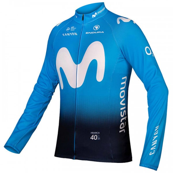 MOVISTAR TEAM Langarmtrikot 2019