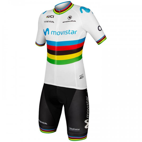 Set MOVISTAR TEAM Weltmeister 2019 (2 Teile)
