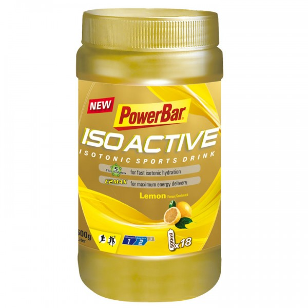 POWERBAR Isoactive-Isotonic Sports Drink Lemon 600g Dose