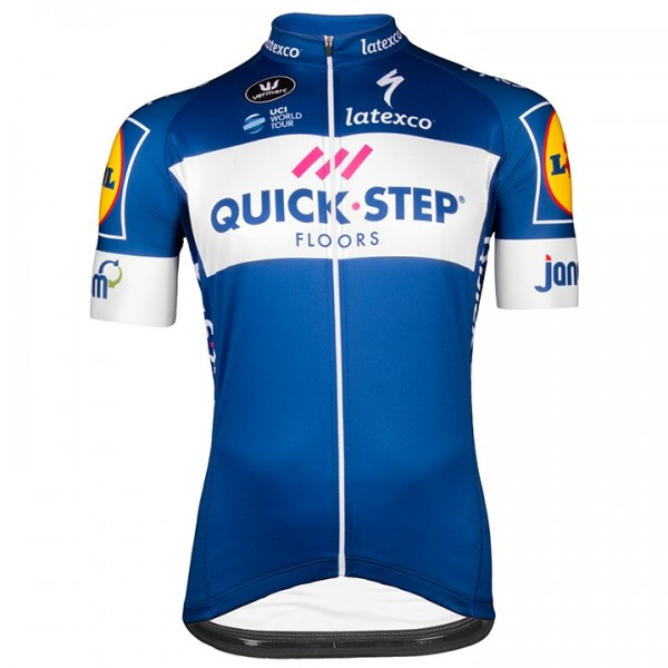 QUICK - STEP FLOORS Kurzarmtrikot Aero 2018