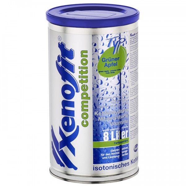 XENOFIT Competition Drink Grüner Apfel 672g Dose